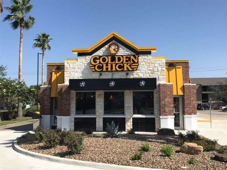 Golden Chick at 12180 Bissonnet is open from 10:30 a.m. to 10 p.m. daily.
