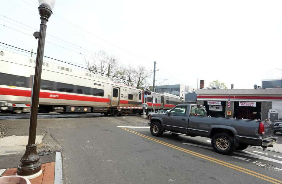 More than 400 people are killed by trains each year nationwide with most of the incidents occurring at grade-crossings. There were six train fatalities in Connecticut last year. Photo: Michael Cummo / Hearst Connecticut Media / Stamford Advocate