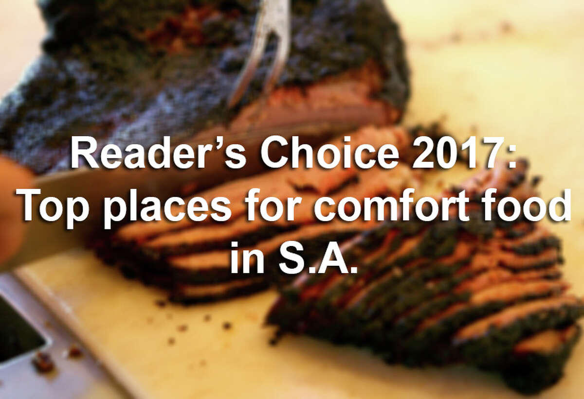 Throughout San Antonio, restaurants cater to American tastes. From barbecue and buffalo wings, to French fries and onion rings, the options for comfort food are numerous - but some are better than others. See where to go to chow down on a chicken-fried steak, hot dog and other classic American dishes, according to Readers' Choice.