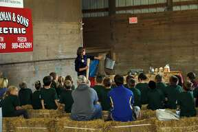 Third grade students from across the county took part in Project RED (Rural Education Day), Tuesday at the Huron County Fairgrounds.
