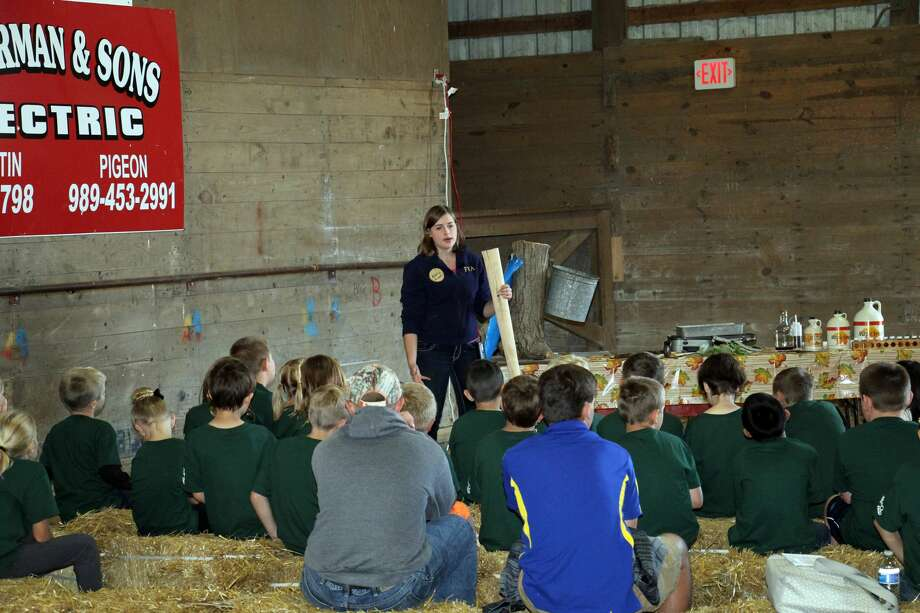 Third grade students from across the county took part in Project RED (Rural Education Day), Tuesday at the Huron County Fairgrounds. Photo: Seth Stapleton/Huron Daily Tribune