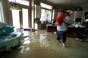 Tropical Storm Harvey flooded the Lone Star College-Kingwood campus. Six of nine buildings were affected.