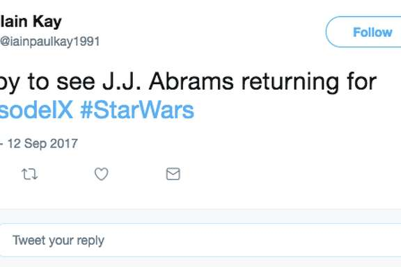 Fans of the space opera film series Star Wars had mixed reactions to the news that J.J. Abrams will be direction Episode IX.