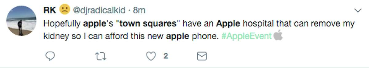 Twitter roasted Apple for its Tuesday announcement that stores would now be called