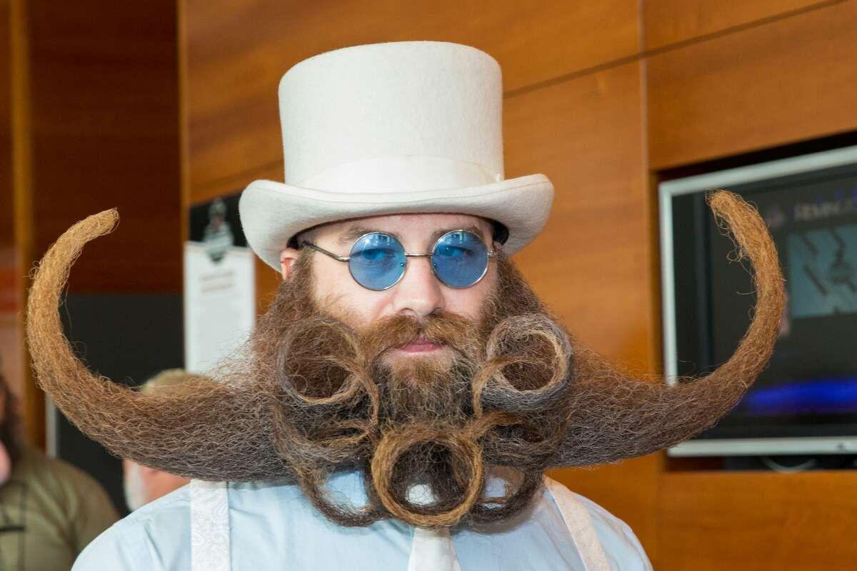 Competitor Adam Gazda attends the 2017 Remington Beard Boss World Beard & Moustache Championships held at the Long Center for the Performing Arts on September 3, 2017 in Austin, Texas.