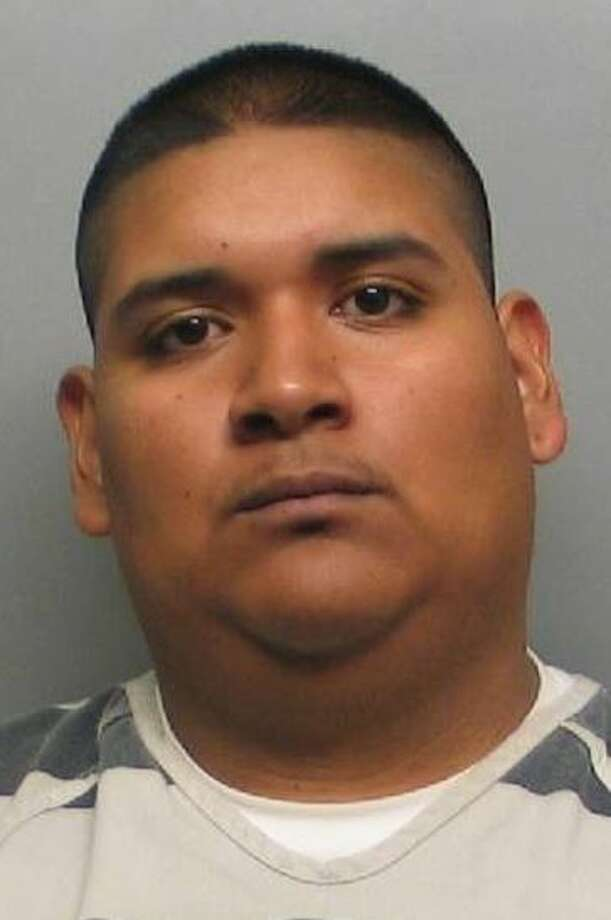 Ramiro Amaro, 25, was arrested and charged with aggravated assault with a firearm. Photo: Webb County Sheriff's Office
