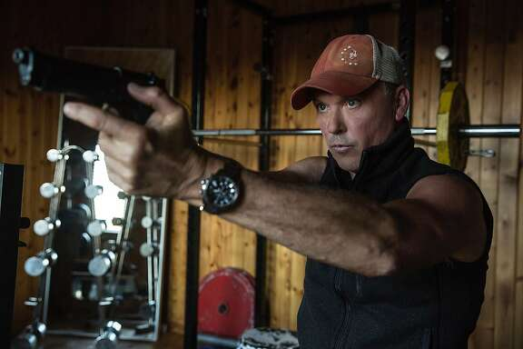 "This image released by Lionsgate shows Michael Keaton in a scene from, ""American Assassin."" (Christian Black/Lionsgate via AP)"