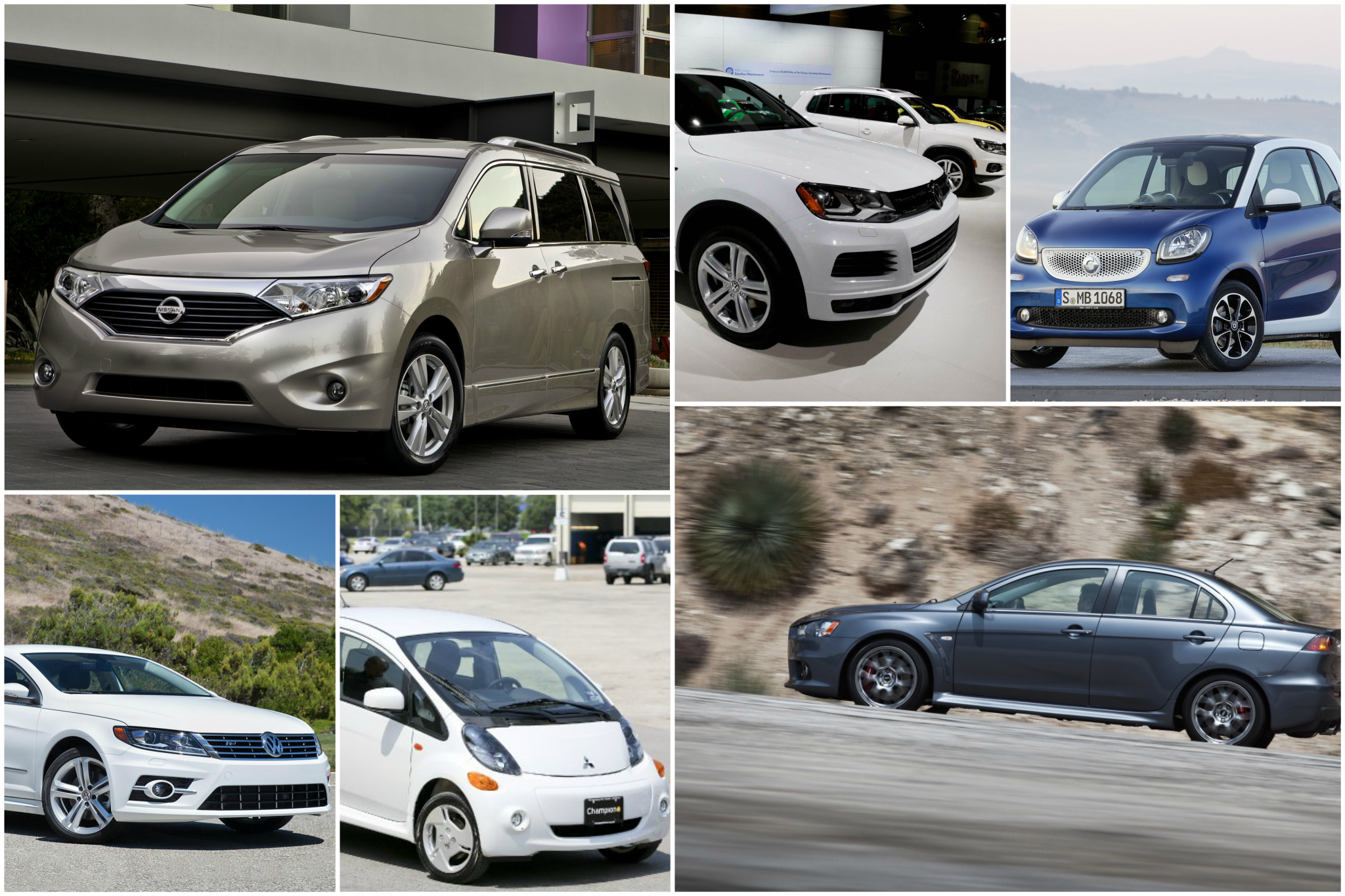 Don't try to look for these vehicles in 2018. They're discontinued