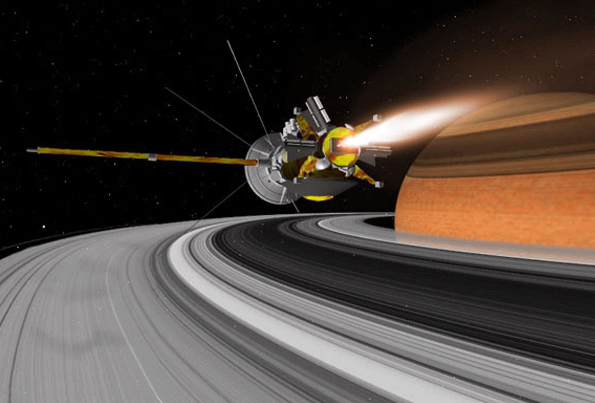 saturn cassini spacecraft - HD2000×1354