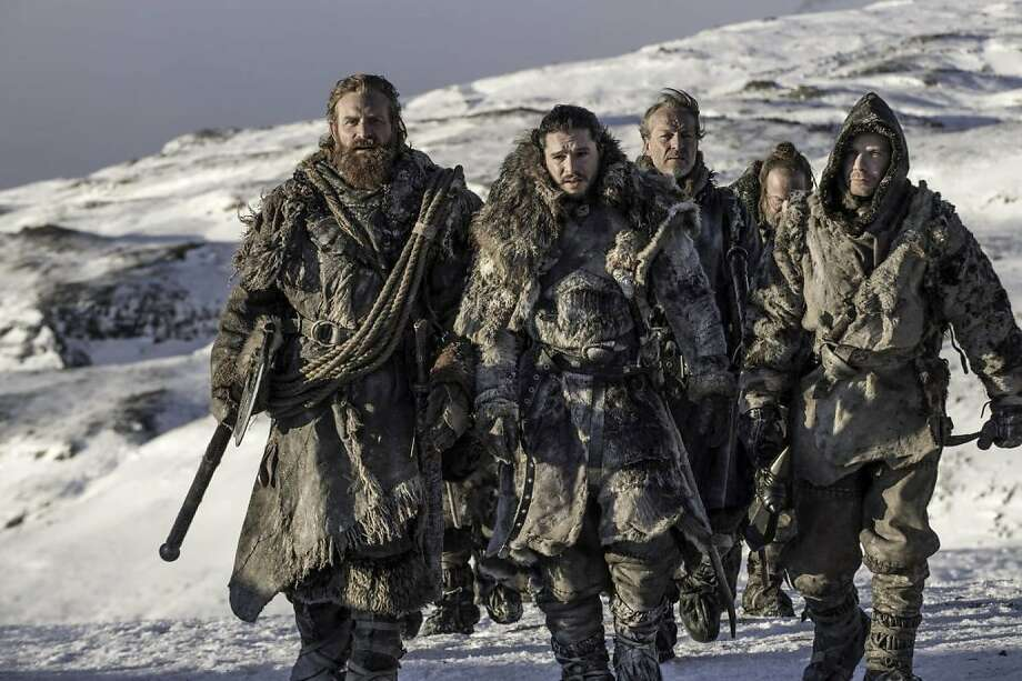 """An army of the undead is the threat on """"Game of Thrones,"""" but the enemy we face is scarier. It's us. Photo: Helen Sloan, HBO"""