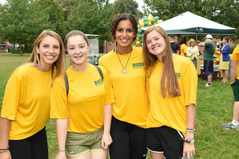 Siena College welcomed 780 freshmen and 134 transfers for its annual Move-In Day. It was Siena's largest freshman class in six years.Classes began Sept. 5. Photo: Siena College
