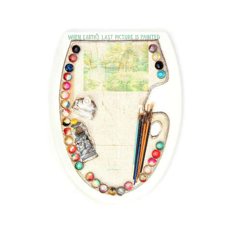 Excellent Barney Smiths Toilet Seat Art Museum Is Moving To North Unemploymentrelief Wooden Chair Designs For Living Room Unemploymentrelieforg