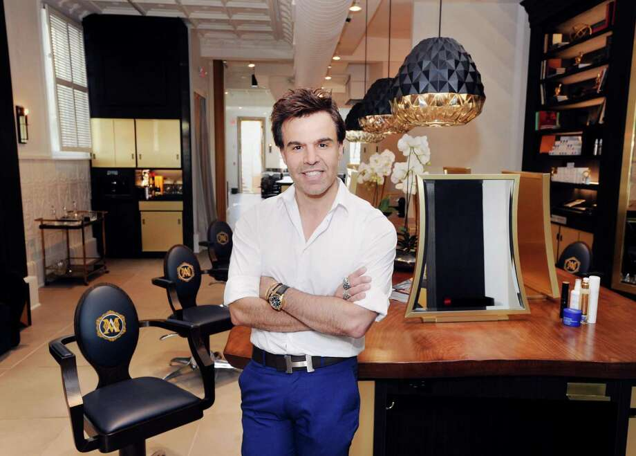 Alexandre Chouery in Maison D'Alexandre, the salon he owns at 33 Lewis Street in Greenwich, Conn., Tuesday, Sept. 12, 2017. Photo: Bob Luckey Jr. / Hearst Connecticut Media / Greenwich Time