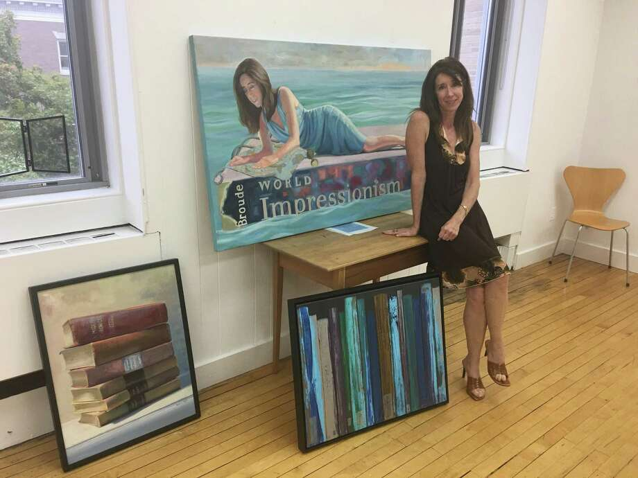 Artist Karen Griffin will have her work on display for a solo show at the Greenwich Art Society Gallery through Oct. 8. Photo: Contributed