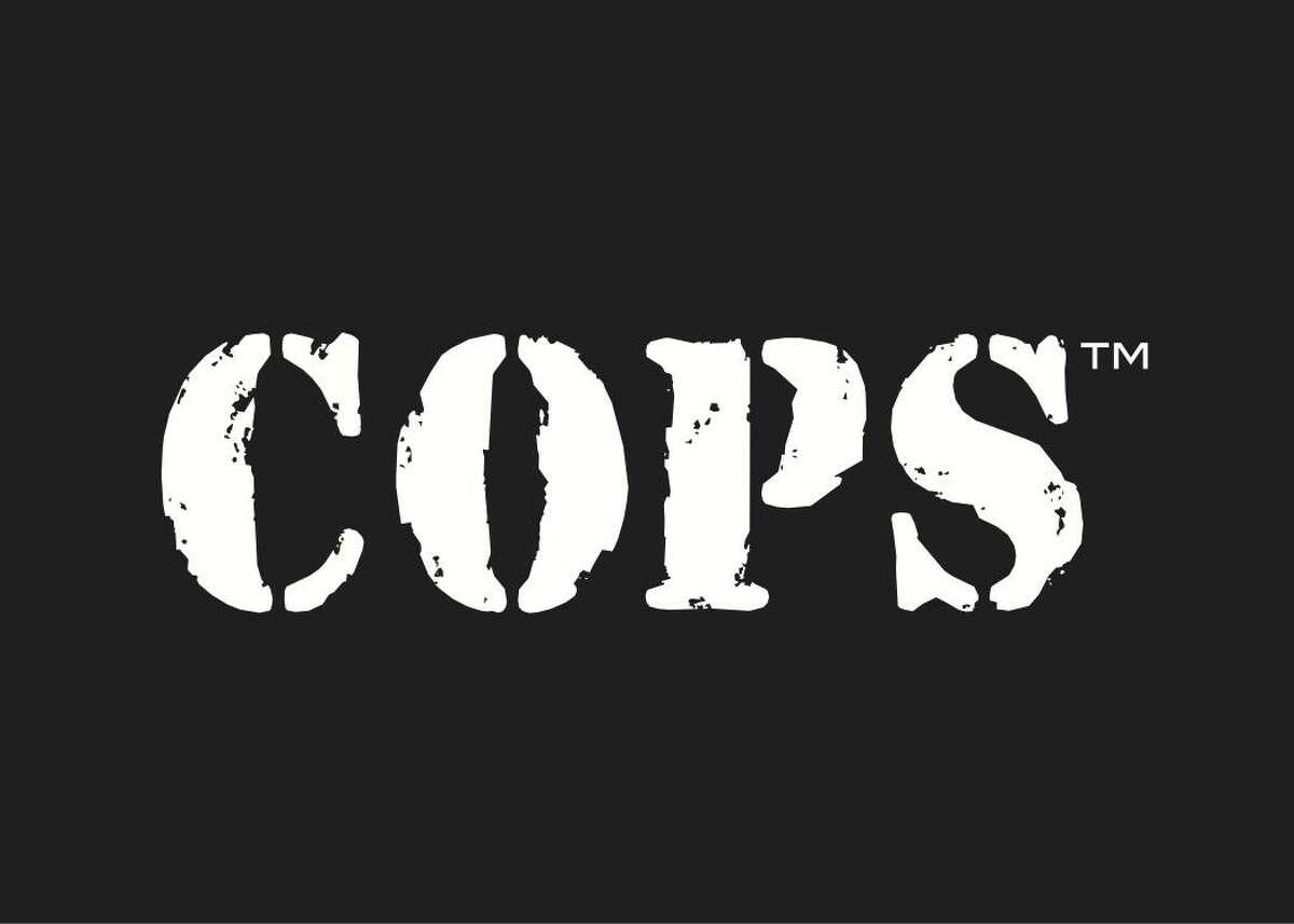 The famous 'COPS' logo.