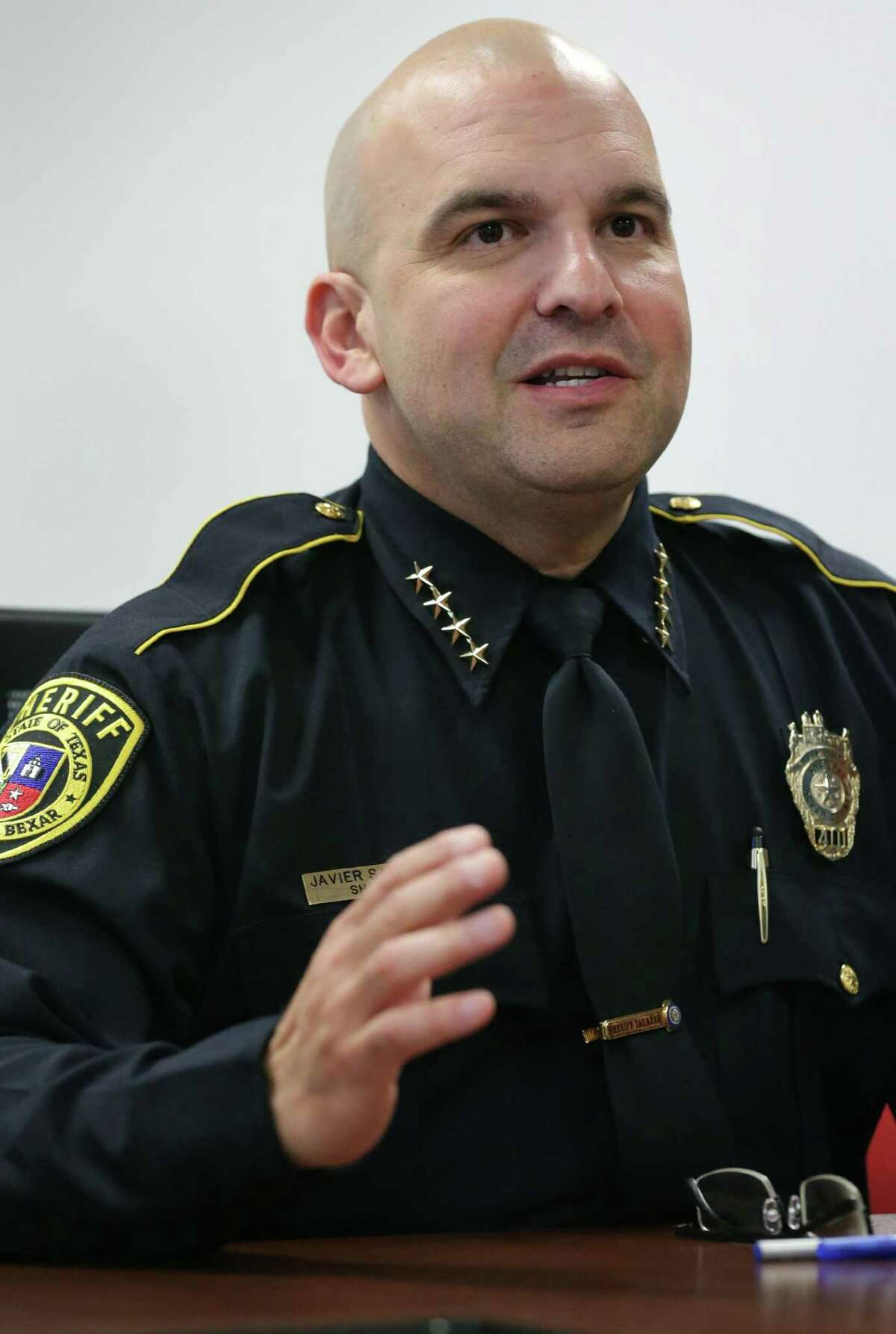 Bexar County Sheriff Javier Salazar said he's excited that the national TV exposure will boost officer recruitment as well as highlight his officers on duty.