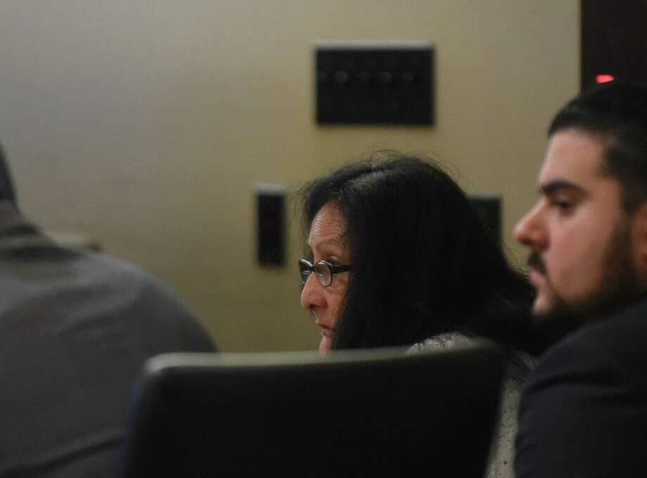 Gloria Proo, convicted Monday of injury to a child/severe bodily injury by omission in the 2012 death of Josiah Williams, 5, sits in 379th District Court during the punishment phase of her trial. Photo: Billy Calzada /San Antonio Express-News / San Antonio Express-News