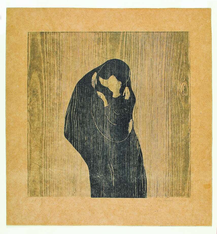 "Edvard Munch, ""The Kiss IV"" (1902) Photo: Courtesy Modernism, Inc."