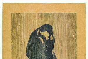 "Edvard Munch, ""The Kiss IV"" (1902)"