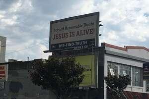 A Gospel Billboard in San Francisco.