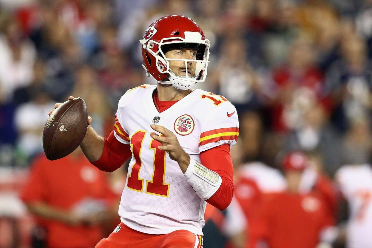 Chiefs QB Alex Smith gets a bad wrap for being too boring sometimes, but he was anything but in his season opening win.