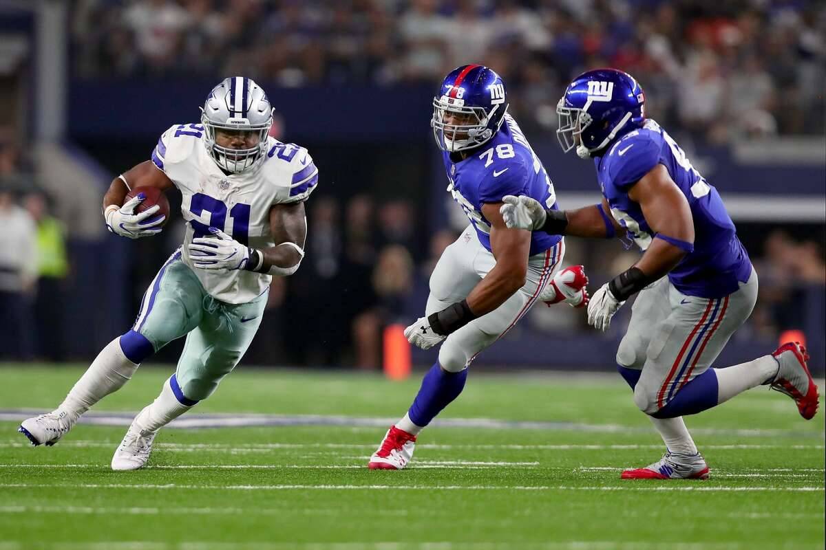 Sunday, Sept. 16 Giants at Cowboys, 7:20 p.m. Cowboys favored by 6 points