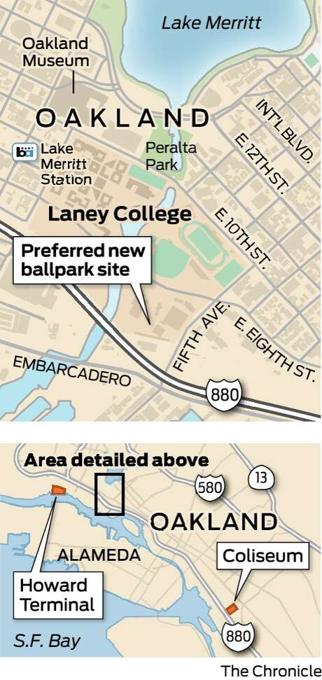 A\'s want to build new ballpark next to Laney College in Oakland - SFGate