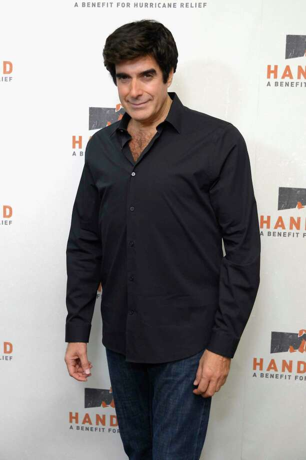 NEW YORK, NY - SEPTEMBER 12:  In this handout photo provided by Hand in Hand, David Copperfield caption at ABC News' Good Morning America Times Square Studio on September 12, 2017 in New York City. Photo: Roy Rochlin/Hand In Hand, Getty Images / 2017 Roy Rochlin