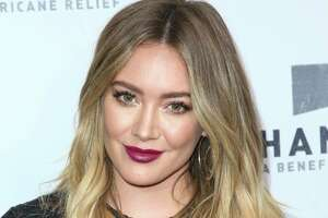 Hilary Duff attends the Hand in Hand: A Benefit for Hurricane Harvey Relief held at Universal Studios Back Lot on Tuesday, Sept. 12, 2017 in Los Angeles. (Photo by John Salangsang/Invision/AP)