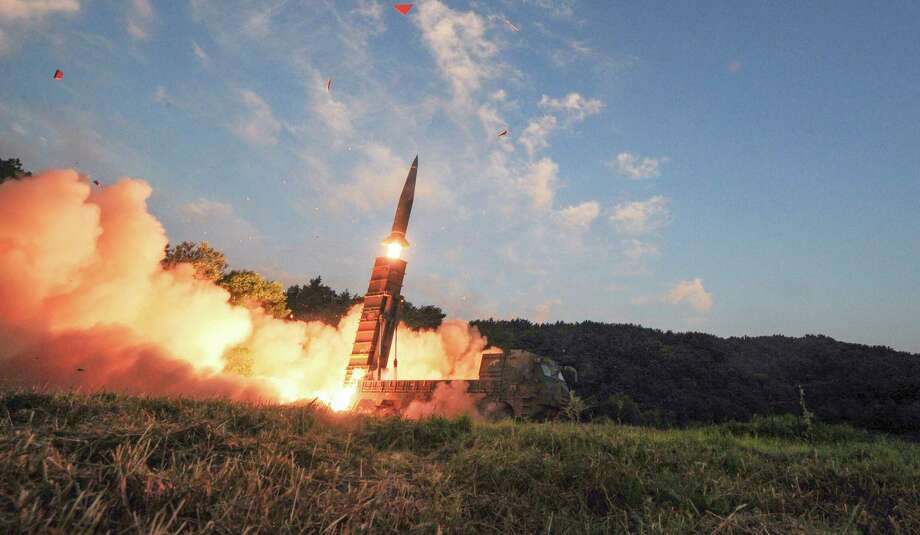 """In addition to wielding its own missile arsenal, the South Korean military is trying to resurrect """"decapitation units"""" to deter aggression by the North. an undated handout photo, a Hyunmoo-2 missile is fired by South KoreaÕs military during an exercise on Sept. 4, 2017. President Donald Trump in September agreed to lift payload limits for South Korea under a decades-old treaty, allowing the country to build more powerful ballistic missiles.  Photo: SOUTH KOREA DEFENSE MINISTRY, HO / SOUTH KOREA DEFENSE MINISTRY"""