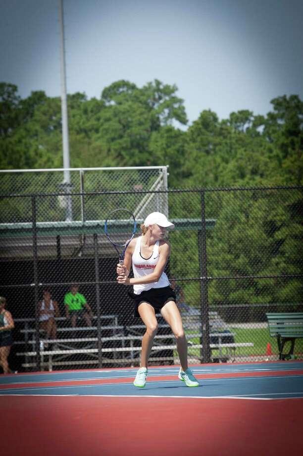 The Woodlands tennis player Avery Hilbig. Photo: Photo Provided