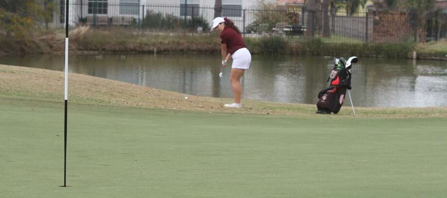 Stephanie Gonzalez shot a 75 in the second round of the TexAnn Fall Classic Tuesday earning TAMIU's top finish in 31st place. Photo: Courtesy Of TAMIU Athletics
