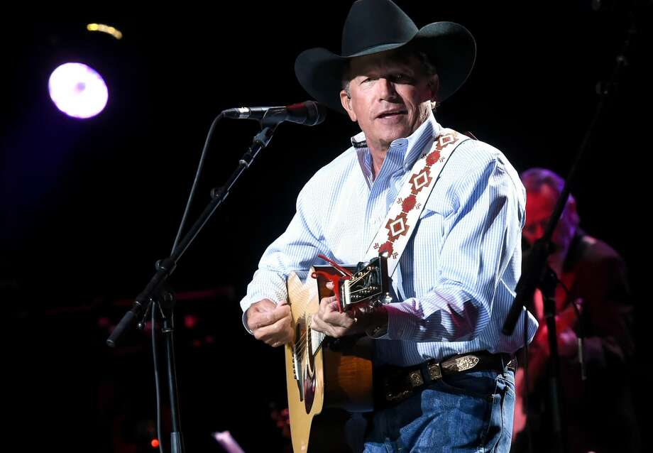 SAN ANTONIO, TX - SEPTEMBER 12:  In this handout photo provided by Hand in Hand, George Strait performs onstage during George Strait's Hand in Hand Texas benefit concert; Strait and special guests Miranda Lambert, Chris Stapleton, Lyle Lovett and Robert Early Keen perform in concert at the Majestic Theatre on September 12, 2017 in San Antonio, Texas.  (Photo by Rick Diamond/Hand in Hand/Getty Images) Photo: Rick Diamond/Hand In Hand/Getty Images