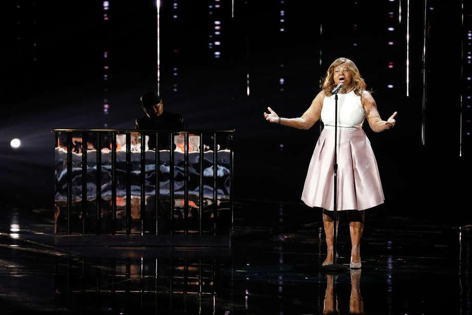 "Kechi on the ""America's Got Talent"" semifinals Sept. 12, 2017. Photo: NBC / 2017 NBCUniversal Media, LLC"