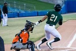 Former Alexander and TAMIU baseball player Fernando Garza was named the 2017 Pecos Leagues Pacific Division Hitter of the Year in his rookie season professionally for the Tucson Saguaros.