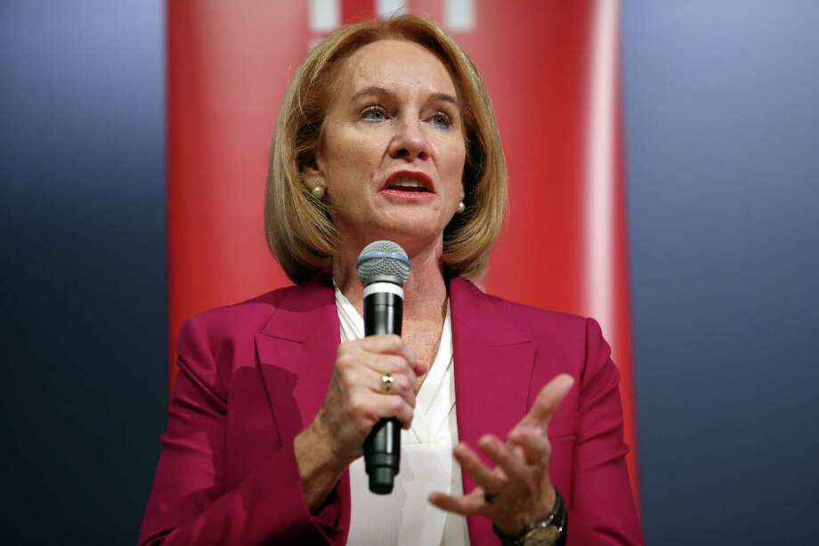 Mayoral candidate Jenny Durkan answers questions during a debate, Tuesday, Sept. 12, 2017 at Seattle University. Photo: GENNA MARTIN, SEATTLEPI / SEATTLEPI.COM