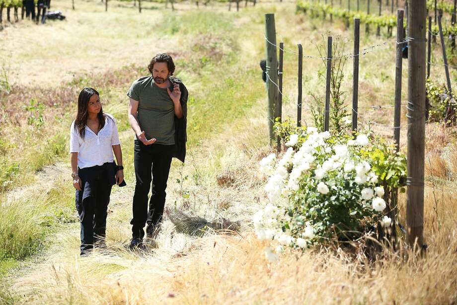 "Sam Fox (Emmy nominee Pamela Adlon, left) and season two love interest Robin (Henry Thomas) in ""Better Things."" Photo: Courtesy Of FX"