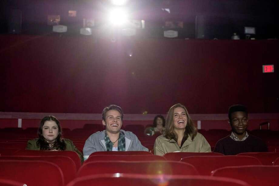Hannah Zeile, Logan Shroyer, Mandy Moore and Niles Fitch, This Is Us | Photo Credits: NBC, Ron Batzdorff/NBC / 2017 NBCUniversal Media, LLC