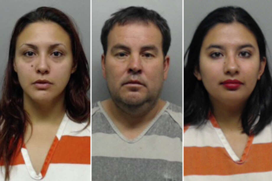 Elena Del Carmen Rivera was charged with felony theft and engaging in organized criminal activity. The two others arrested in connection with the case — David Gutierrez and Arianne Isabel Lopez — face the same charges. Photo: Webb County Sheriff's Office