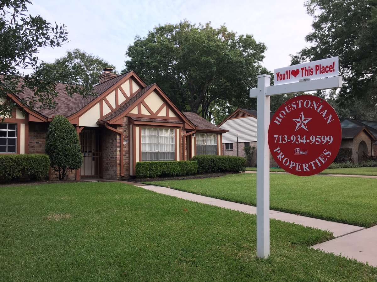 Home for sale in west Houston.