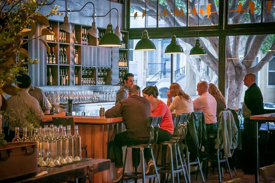 The bar at Stones Throw in San Francisco, Calif., is seen on Saturday, March 8th, 2014. Photo: John Storey, Special To The Chronicle