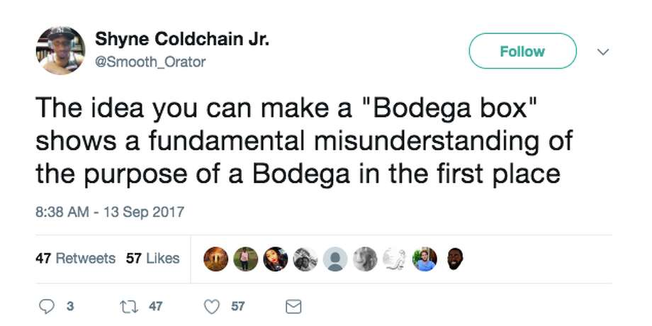 People on Twitter react to the announcement of the 'Bodega' start-up. Photo: Screenshot Via Twitter