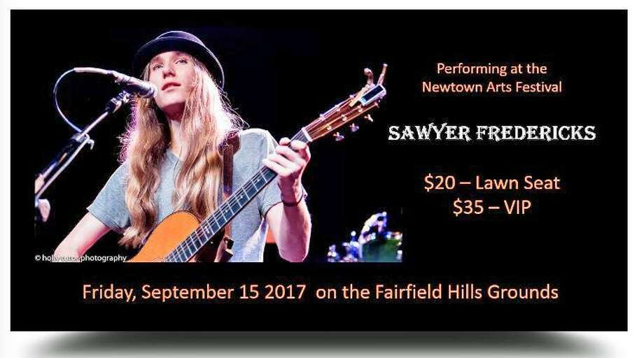 Sawyer Fredericks Photo: / Newtown Cultural Arts Commission