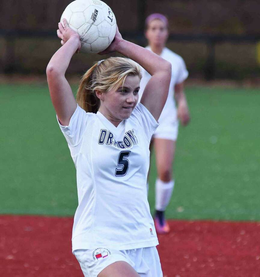 Ella Murphy of Darien is one of the Greens Farms Academy girls soccer leaders for the coming fall season. Photo: Contributed Photo / Darien News contributed