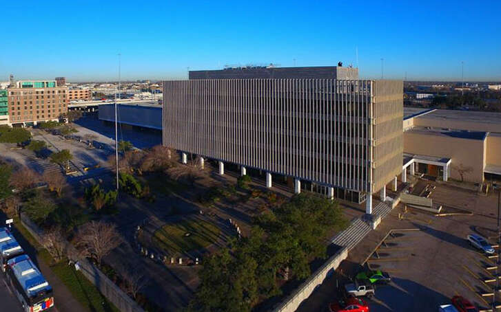 The Barbara Jordan Post Office, built in 1962, is the site of event venue Post HTX. Lovett Commercial is offering a portion of the campus for use by groups raising funds for Hurricane Harvey relief efforts.
