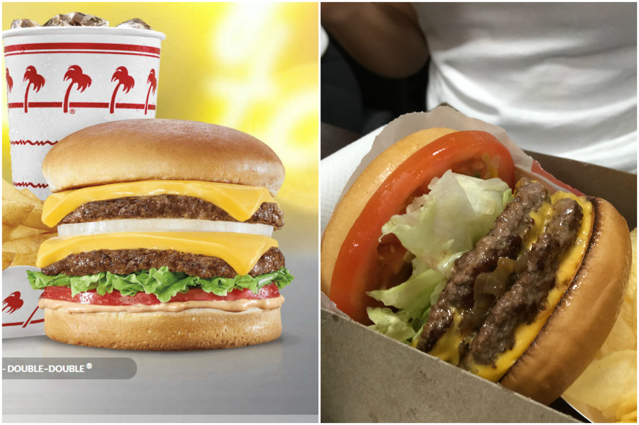 See what fast food companies think their food looks like for Lean cuisine vs fast food