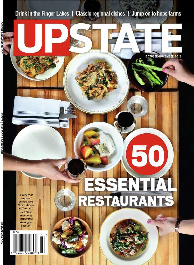The cover for the Oct./Nov. issue of Upstate (Photo and design by Colleen Ingerto)