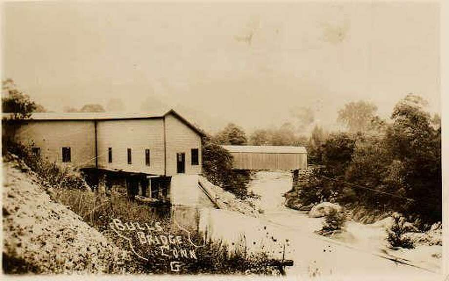 """Gunn Historical Museum in Washington, in collaboration with the Steep Rock Association and Hollister House Garden, will present an illustrated program, """"The Bulls Bridge to Waterbury Power Line in Washington, Conn.,"""" Sept. 23 at 10 a.m. Steve Jones and Zac Mirecki will present the program in the new program barn at Hollister House Garden at 300 Nettleton Hollow Road in Washington, followed by an historical hike at Steep Rock Preserve in Washington. For more information, call 860-868-7756. Photo: Contributed Photo / Contributed Photo / The News-Times Contributed"""
