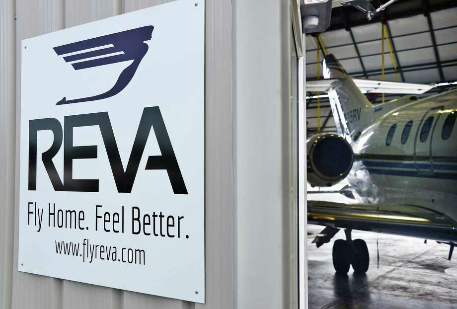 Entrance to the REVA hangar at Schenectady County Airport Wednesday Sept. 13, 2017 in Glenville, NY.  (John Carl D'Annibale / Times Union) Photo: John Carl D'Annibale, Albany Times Union / 40041544A