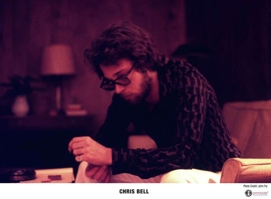 Musician Chris Bell made one record with Big Star before he was killed in a car accident Photo: John Fry